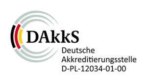 DAkkS - Deutsche Akkreditierungsstelle (Logo)