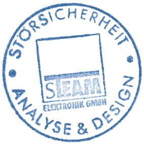 Stempel S-Team, Störsicherheit, Analyse, Design